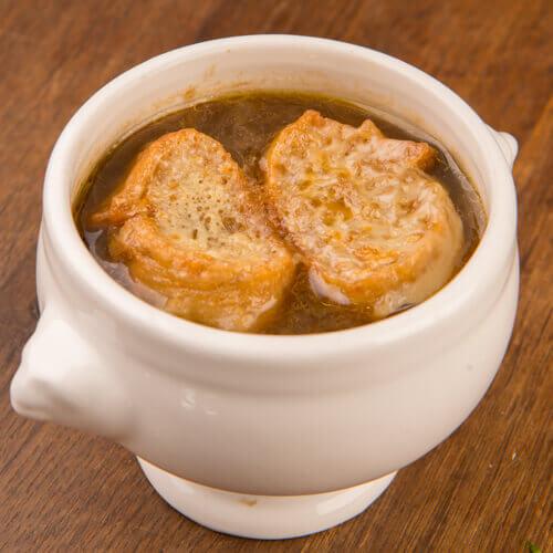Soupe à l`oignon